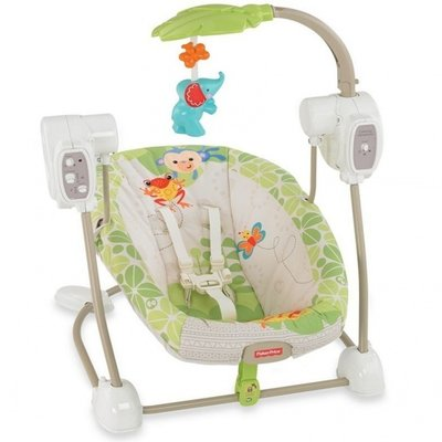 Fisher Price Rainforest Friends Swing And Seat Kids Moms