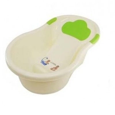 Large Baby Bath with Head Foam Support - assorted colors - Kids ...
